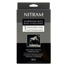 Nitram Sharpening Block Replacement Pads Set of 5