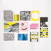 Nuuna Graphic L Notebook Bang Head Here