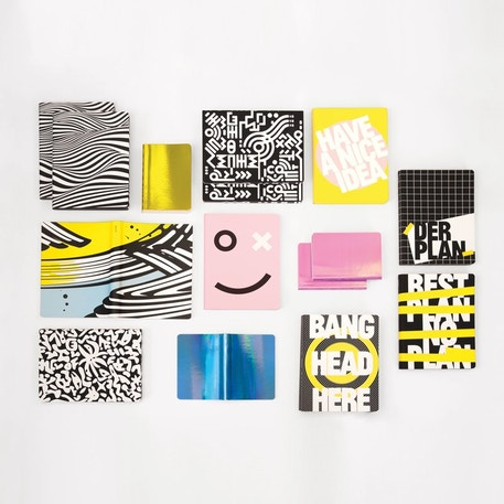 Nuuna Graphic L Notebook Have A Nice Idea | Cass Art