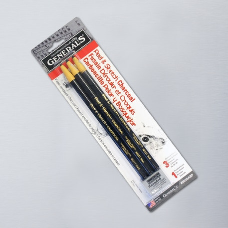 General's Pencil Co Charcoal Pencil Peel and Sketch Set | Cass Art