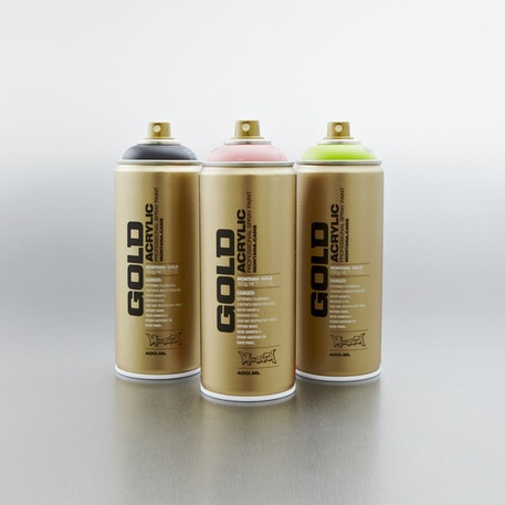 Montana Gold Spray Paint 400ml | Professional Spray Paint | Cass Art