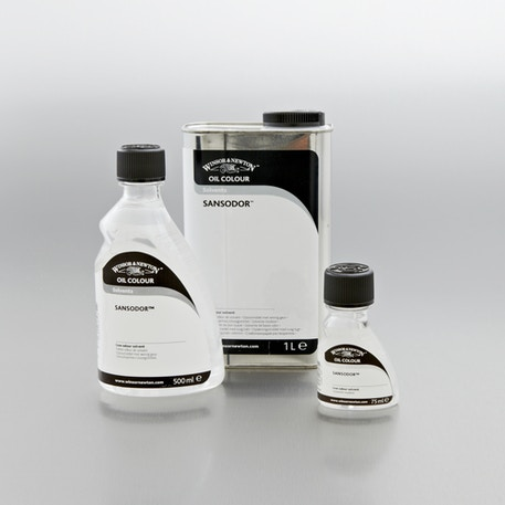 Winsor & Newton Sansodor Low Odour Solvent | Professional Painting Mediums | Cass Art