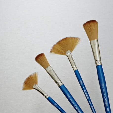 Winsor & Newton Cotman Watercolour Fan and Mop Brush | Watercolour Brushes | Cass Art