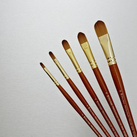 Pro Arte Prolene Plus Synthetic Brush Filbert Series 009 | Artist Brushes