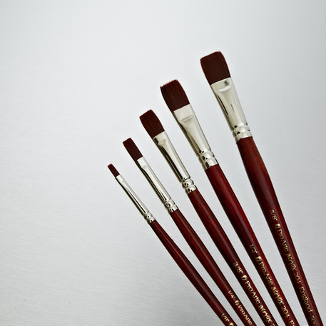 Pro Arte Acrylix One Stroke Brush Series 204 | Artist Brushes | Cass Art