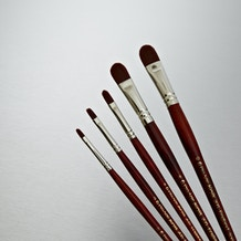 Pro Arte Acrylix Brush Filbert Series 205