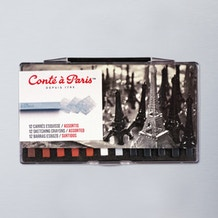 Conte a Paris Carres Crayon Traditional Set of 12