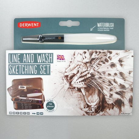 Derwent Line and Wash Sketching Set | Cass Art
