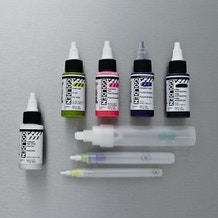 Golden High Flow Empty Markers and Acrylic Ink 30ml Set