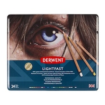 Derwent Lightfast Coloured Pencils Tin Set of 24