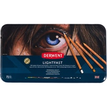 Derwent Lightfast Coloured Pencils Tin Set of 72