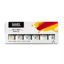 Liquitex Professional Soft Body Acrylic Mixing Set of 6 x 59ml