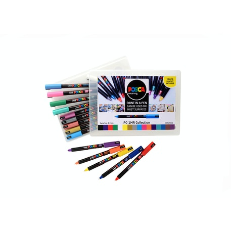 Posca PC-1MR 0.7mm Collection Assorted Colours Set | Cass Art