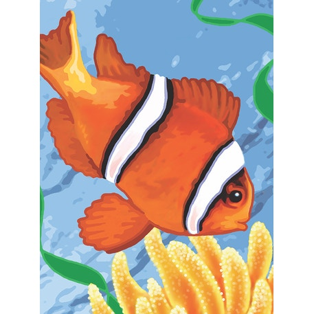 Royal & Langnickel Paint by Numbers Clown fish | Cass Art