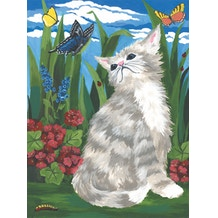 Royal & Langnickel Paint by Numbers Small Kitten & butterflies