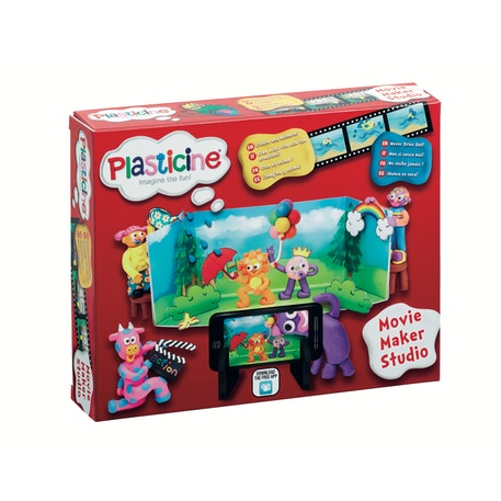 Plasticine Movie Maker Studio Set | Cass Art