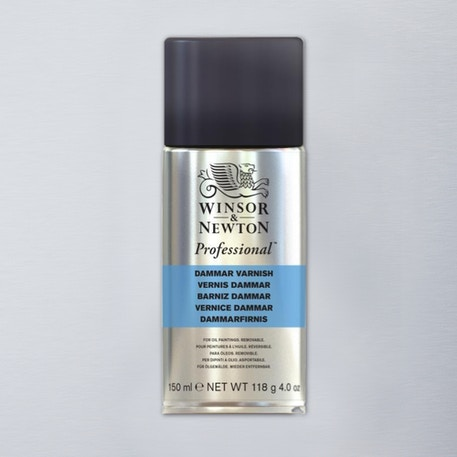 Winsor & Newton Dammar Varnish High Gloss 400ml | Artists Quality Varnish | Cass Art