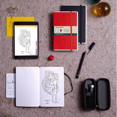 Moleskine Smart Writing Paper Tablet & Pen Set | Cass Art