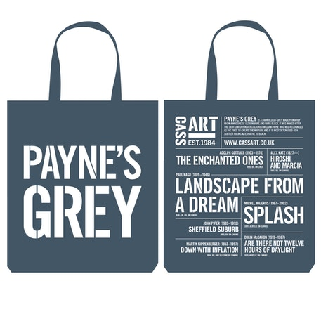 Cass Tote Bag Payne's Grey | Cass Art