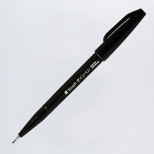 Pentel Touch Brush Sign Pen Black