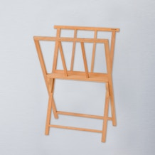 Jullian Oiled Beechwood Print Rack