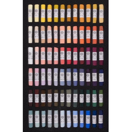 Unison Pastel Portrait Colours Set of 72 | Cass Art