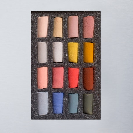 Unison Pastel Portrait Half Stick Set of 16 | Cass Art