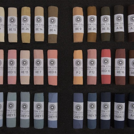 Unison Pastel Portrait Colours Set of 36 | Cass Art