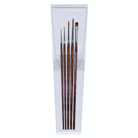 Pro Arte Artist Value Panache Synthetic Watercolour Brush Set of 5