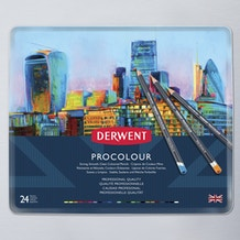 Derwent Procolour Tin Set of 24