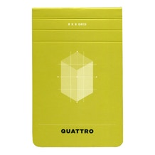 hand.book Quattro Journal Gridded Pad (5.5 x 3.5 inch)