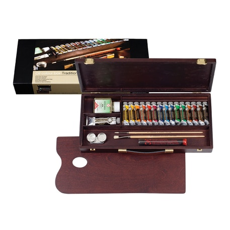 Rembrandt Artists' Traditional Oil Colour Box | Cass Art