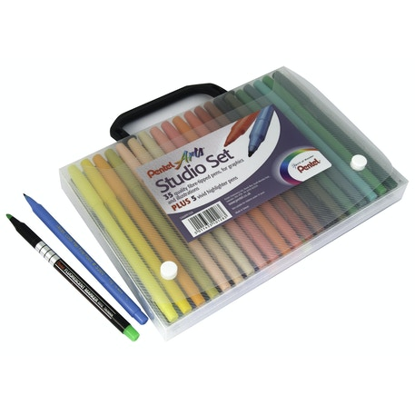 Pentel Arts Studio Set of 40 | Cass Art
