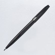 Pentel Sign Pen Fibre Tip Black