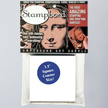 Ampersand Stampbord Square Coaster 8.9cm Pack of 4