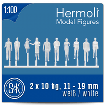 Schulcz Hermoli Figures 1:100 Pack of 20