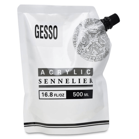Sennelier Abstract Acrylic Gesso - 500ml | Cass Art