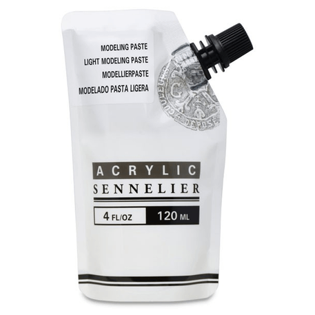 Sennelier Abstract Modeling Paste - 120ml | Cass Art