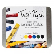 Sennelier Oil Pastels Set of 6 in Tin