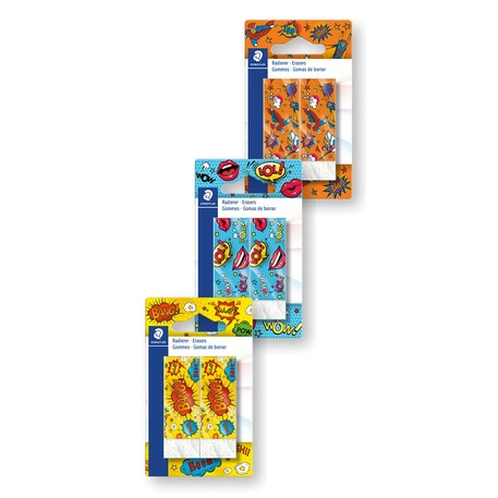 Staedtler Comic Erasers Set of 2 | Cass Art