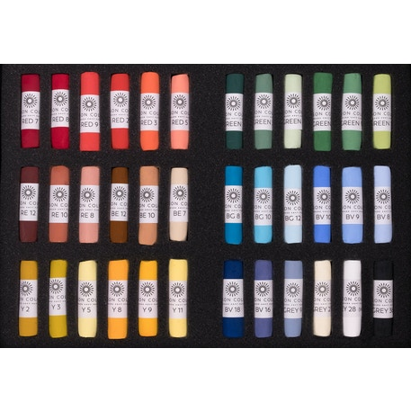 Unison Pastel Starter Colours Set of 36 | Cass Art