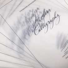 17th October, 11am - 12.30pm, An Introduction to Modern Calligraphy Winsor & Newton inks at Cass Art Islington