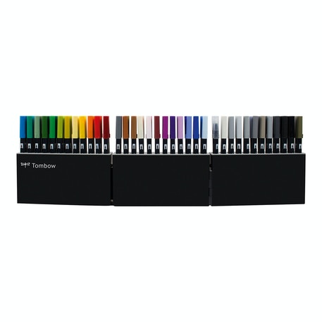 Tombow Dual Brush Pens Assorted Colours Set of 108 | Cass Art