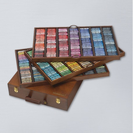 Sennelier The King Soft Pastel Wooden Set of 525 | Cass Art