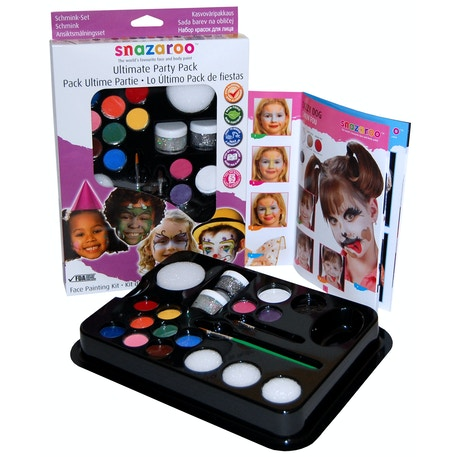 Snazaroo Ultimate Party Pack | Professional Face Paint | Cass Art