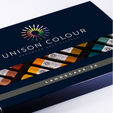 Unison Pastel Landscape Colours Set of 36 | Cass Art