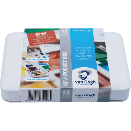 Van Gogh Watercolour Pocket Box Set of 12 | Cass Art