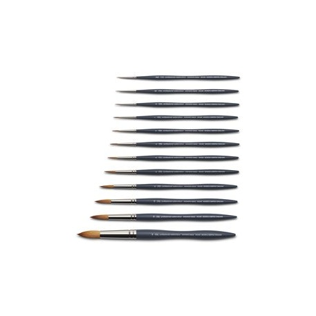 Winsor & Newton Professional Watercolour Synthetic Sable Round Brushes