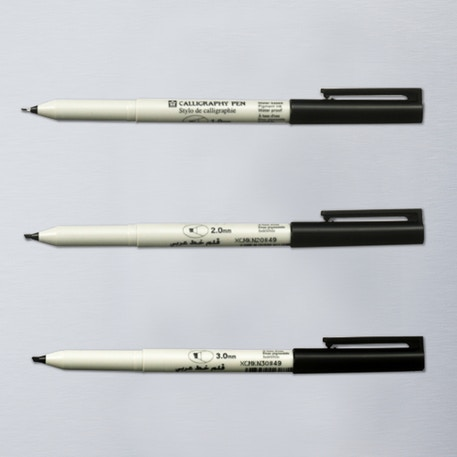 Sakura Calligraphy Pen Black | Cass Art