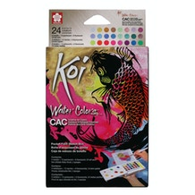 Sakura Koi (CAC) Creative Art Watercolour Field Sketchbox Set of 24